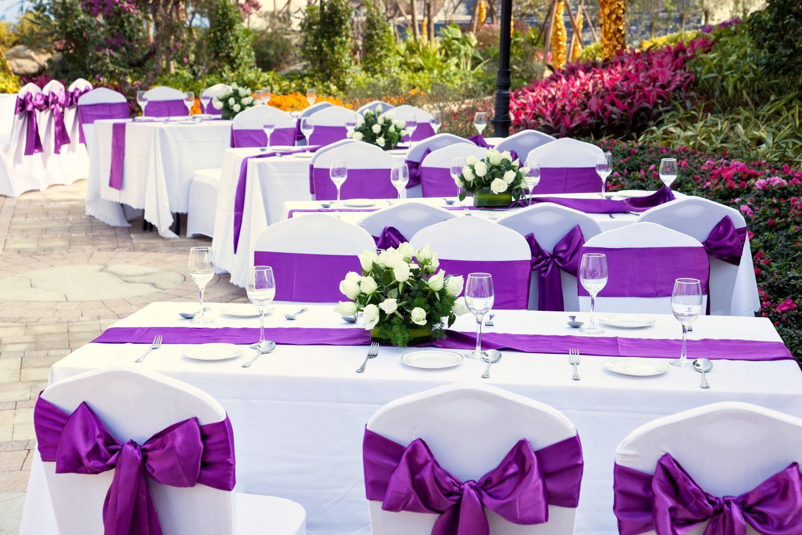 Столы на свадьбу своими руками